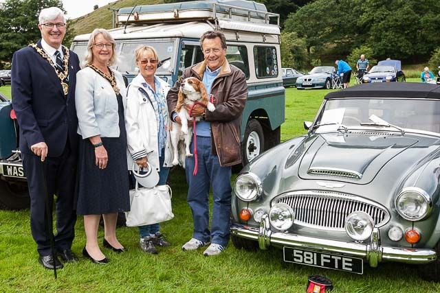 Mayor Ian Duckworth and Mayoress Christine Duckworth with