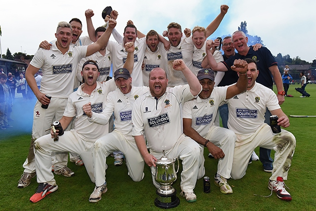 Wood Cup Final winners Rochdale Cricket Club