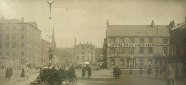 The Wellington Hotel in 1944