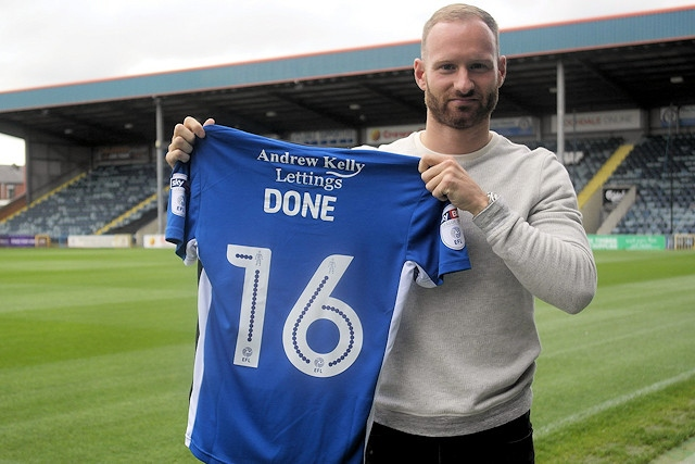 Matt Done scored Rochdale's goal
