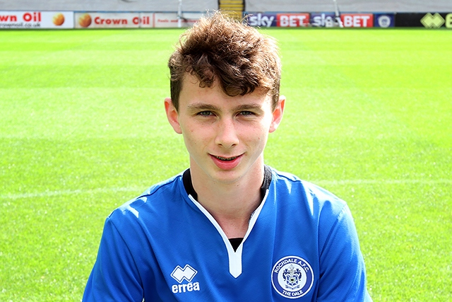 Daniel Adshead, at 16 years and 17 days, became the youngest player in Rochdale's history