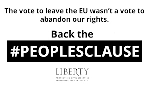 Ask our MP to back 'A Peoples Clause' in the Repeal Bill
