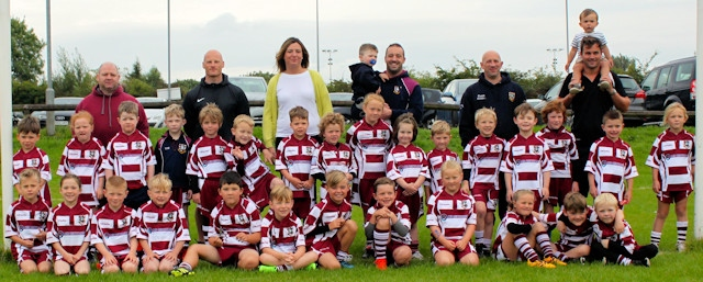 MB Recycling Ltd have sponsored Rochdale Rugby Union FC's U7 team