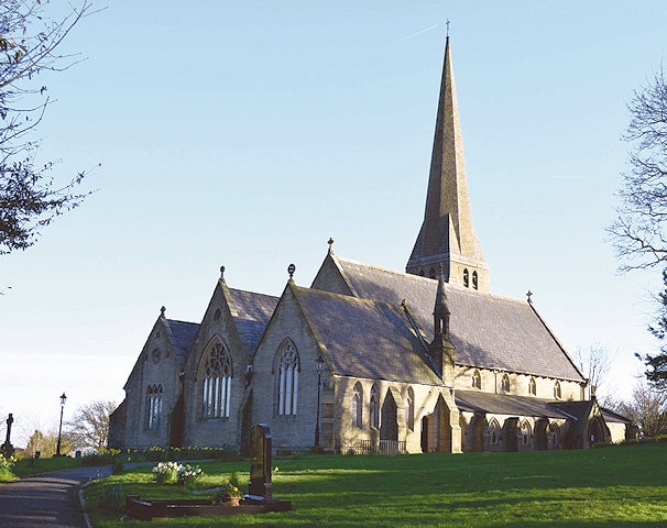 Christ Church, Healey