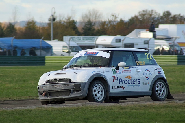 Brown will enjoy a full assault on the eight-round British Rallycross Championship