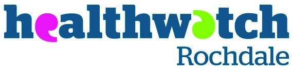 Healthwatch Rochdale logo - one of the 10 Healthwatch groups in Greater Manchester