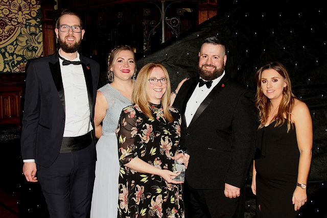 Gumboo Hotels won the Business of the Year, £1m to £5m turnover in 2018