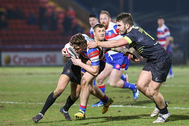 Law Cup: Rochdale Hornets v Oldham Roughyeds