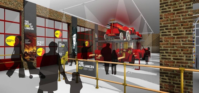 Proposals for the complete renovation of the Greater Manchester Fire Station Museum in Rochdale