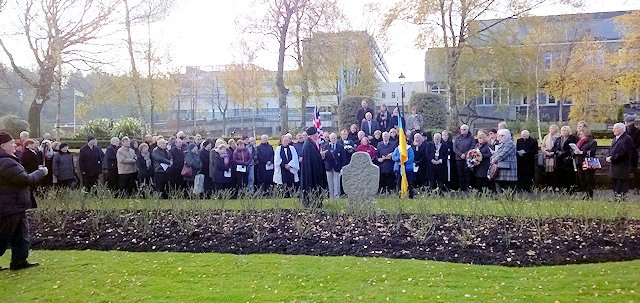 Rochdale remembers Holodomor victims 85 years on