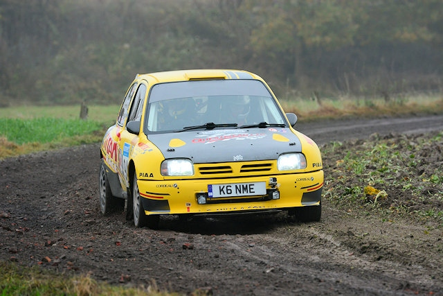 Brown guides his Nissan Micra Kit Car to FIRC title in Kortrijk -