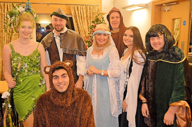 Whitworth Amateur Dramatics Society at Whitworth's Christmas Lights switch on