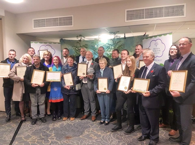 The awards scooped at this year's North West in Bloom awards