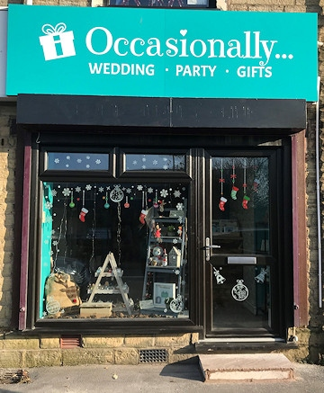 You only celebrate Occasionally, so make it one to remember with new Milnrow gift shop