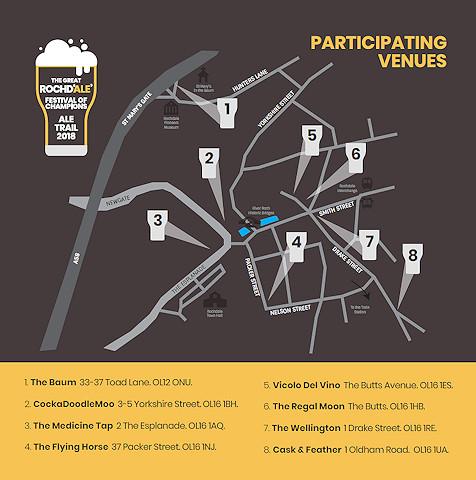 Participating venues
