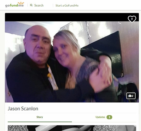 A GoFundMe page has been created to support Jason's family