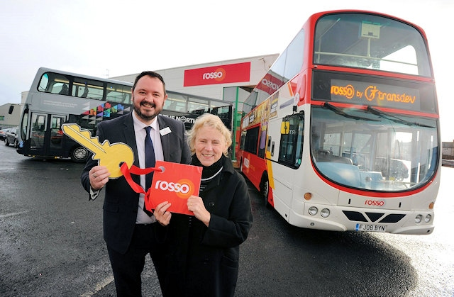 Bus operator Rosso joins the Transdev