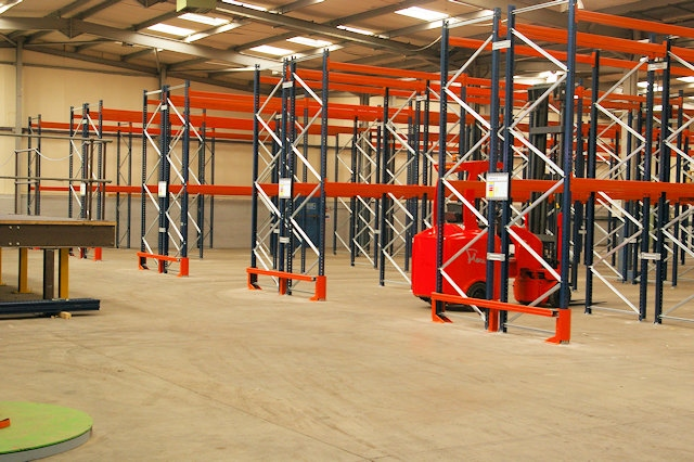 James Nuttall (Transport) Limited secure state-of-the-art storage facility
