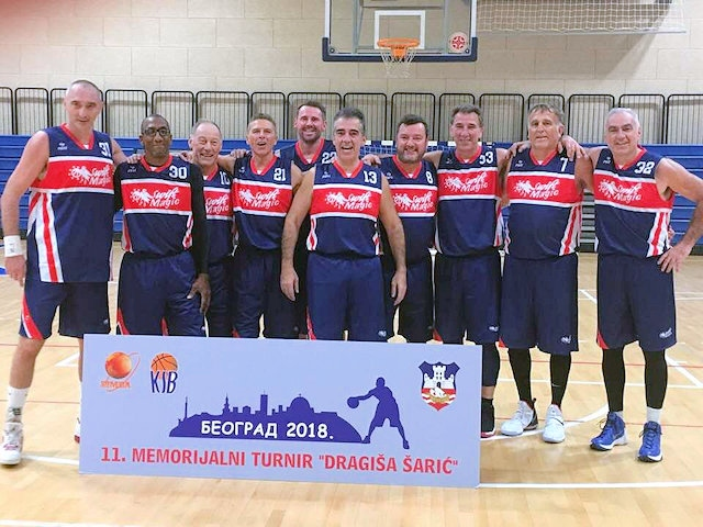 Rochdale Rockets and Swift Magics GB Team in Serbia at Belgrade 2018 tournament