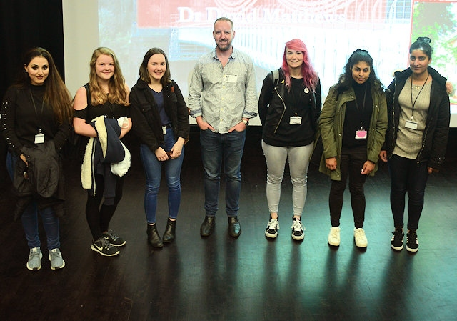 Dr David Matthews at Rochdale Sixth Form College