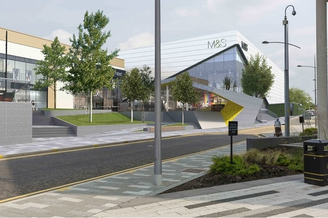 The new development will change the face of Rochdale town centre