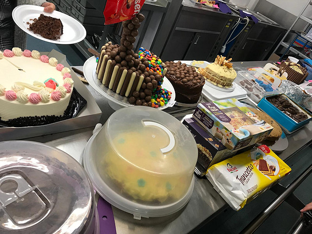 The school held another cake sale