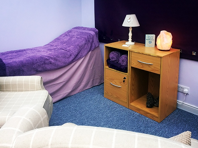 Tania Taylor Hypnotherapy & Psychotherapy Clinic Room