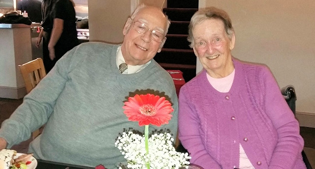 Tony and Irene Dempsey will have been married for 65 years on Valentine's Day