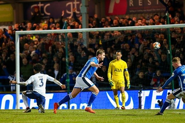 Image result for Rochdale 2:2 Tottenham Hotspur