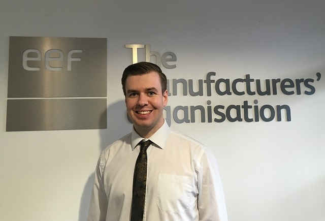 Joel Durkin appointed regional affairs manager to lead EEF's external affairs programme