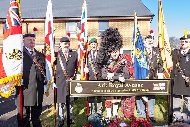 Naming of Ark Royal Avenue