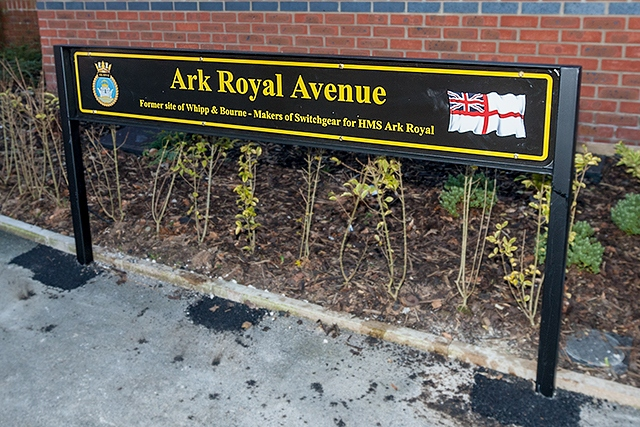 Naming of Ark Royal Avenue