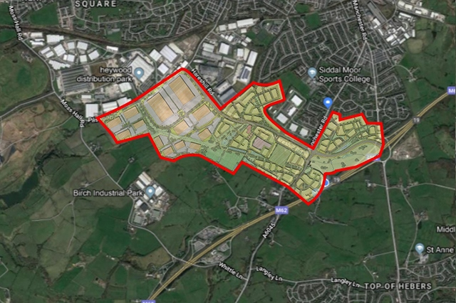 Outline of the planned development