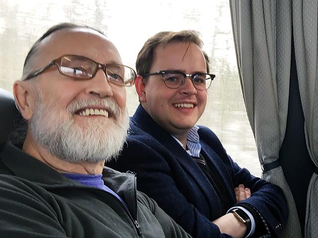 David Hope and Johnathon Coomer