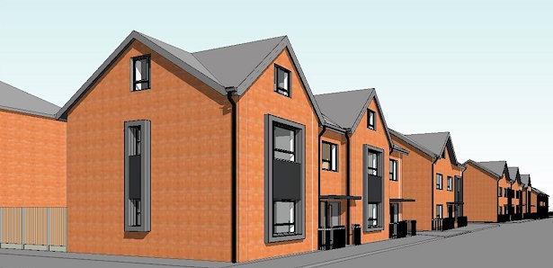 New development at Ramsay Terrace, Rochdale