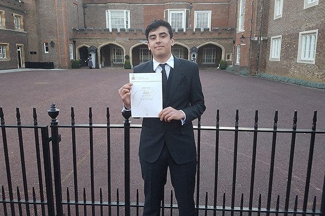 Rochdale News | News Headlines | Student presented with Gold