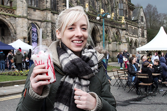 Rochdale Food and Drink Festival will be held inside & outside Rochdale Town Hall on Saturday 16 March, 10am - 8pm