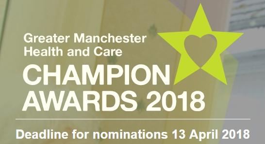 Greater Manchester Health and Care Champion Awards