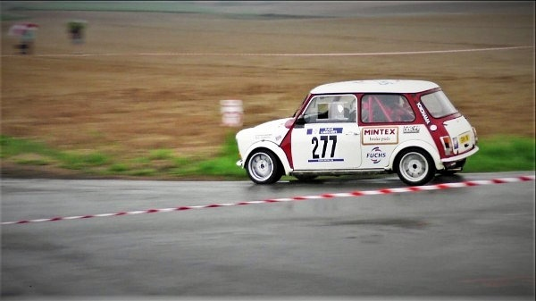 Brown was forced to switch to a Mini at last weekend's Rallye Salamandre