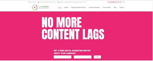 No more content lags
