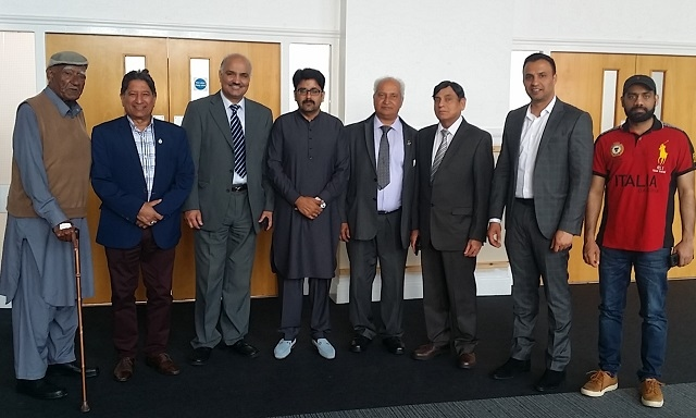 The Mayor of Sahiwal, Rochdale's twin town in Pakistan, pays flying visit to Rochdale