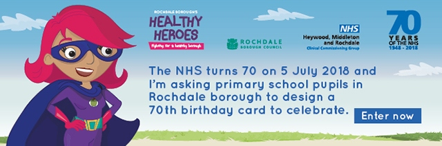 Rochdale News News Headlines Competition To Design 70th Birthday