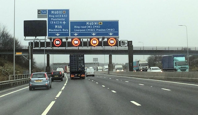 Extending the smart motorway to M62 J20-J25 could be a reality by 2040