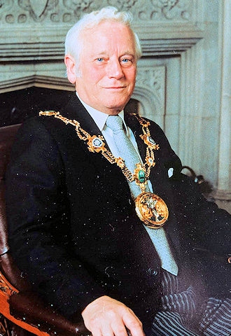 Former Mayor of Rochdale Norman Angus