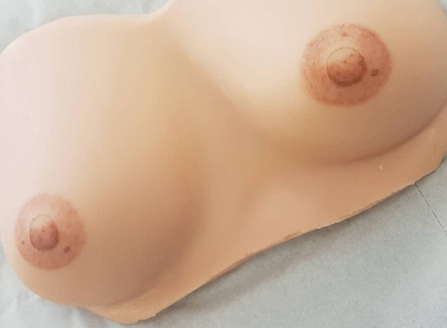 Grace uses a special 3D technique to create a realistic-looking areola