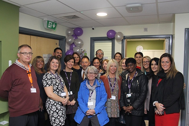 The new out-of-hours service for those experiencing a mental health crisis was launched at Rochdale Infirmary