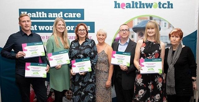 The work done by Healthwatch Rochdale has been recognised as 'Highly commended' in this year's Healthwatch Network Awards for the outstanding achievement category
