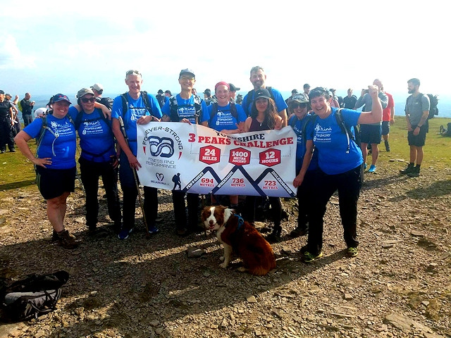 Forever-Strong Fitness and Performance members tackle the Yorkshire 3 Peaks