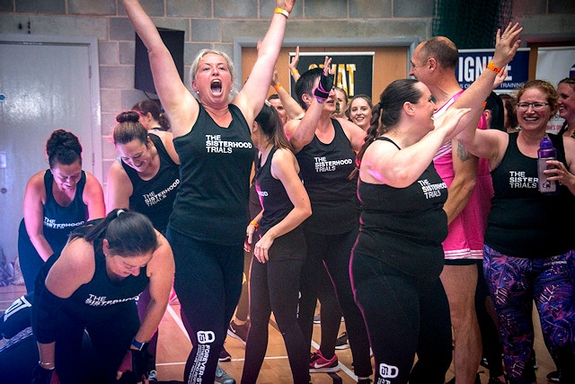 Forever-Strong Fitness and Performance members at The Sisterhood Trials