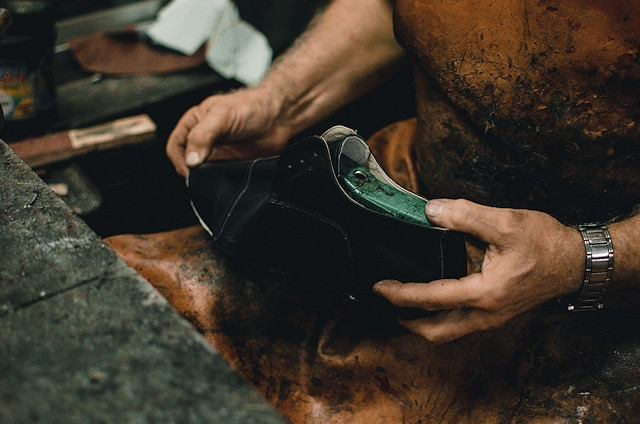 After many years of success, the market's cobbler is retiring and managers are looking for someone experienced in this trade to take over